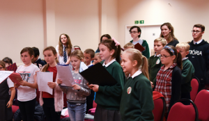 Rehearsal @ St Leonards-in-the-Fields Church Hall