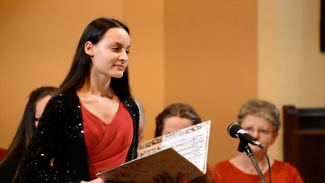 O Christmas Tree – soloist Pavlina Ivanova