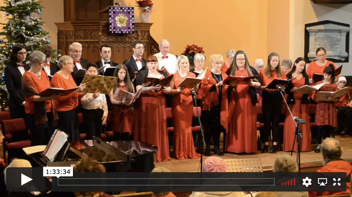 Jambouree Choir and Cabaret Singers Christmas Concert – 2019